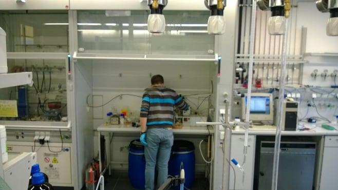 Laborabzug gutes Praxisbeispiel
