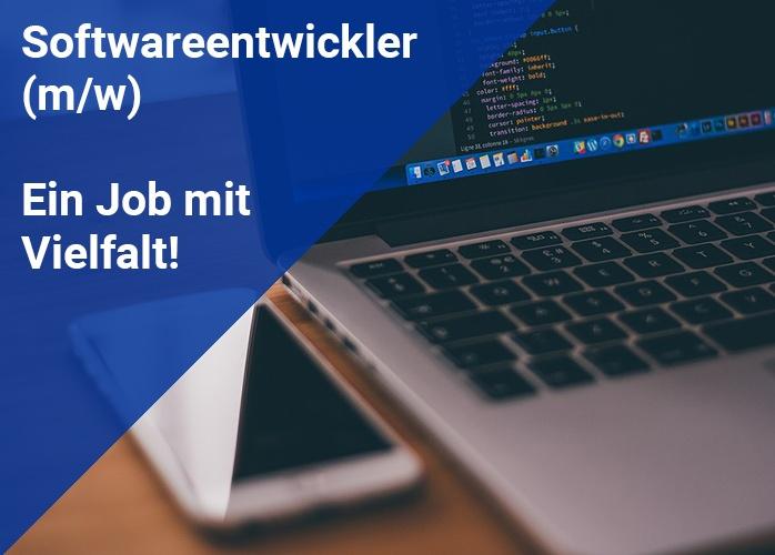 Softwareentwickler Job mit Vielfalt