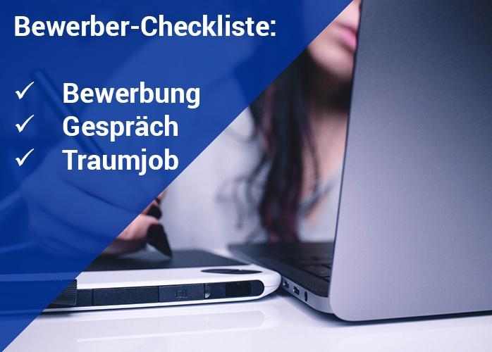 Bewerber Checkliste