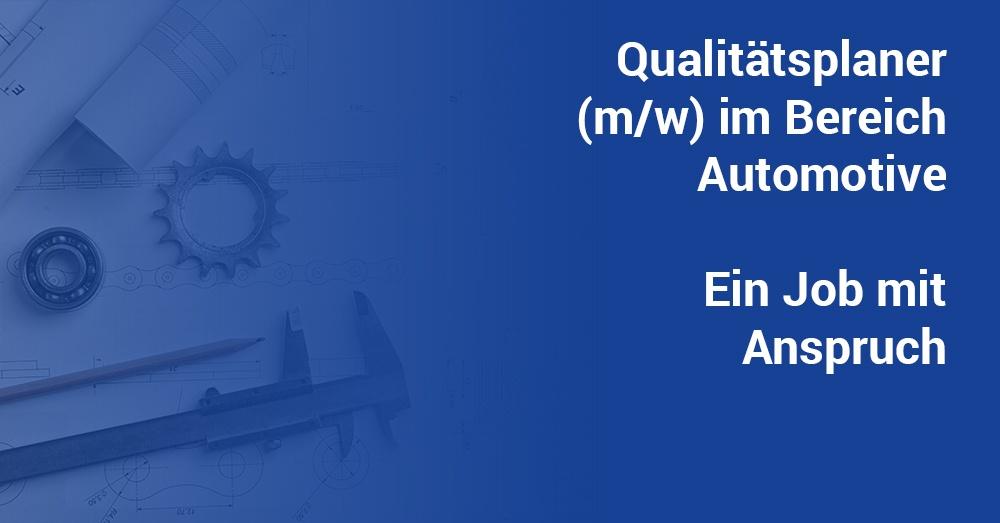 Qualitaetsplaner Automotive