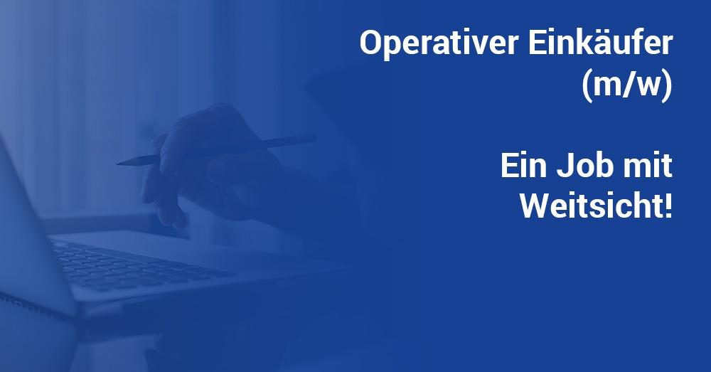 Job Operativer Einkäufer