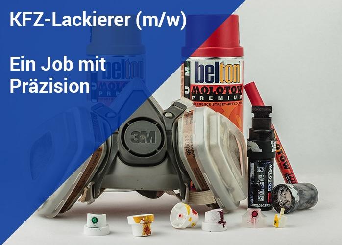 Job mit Präzision: Der KFZ-Lackierer